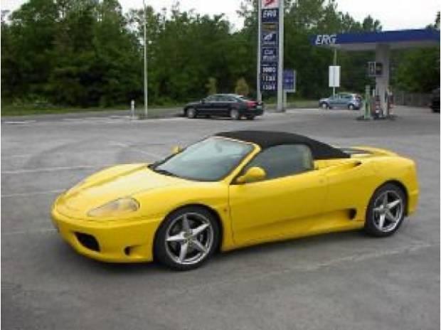 Sold Ferrari 360 Modena Spider F1 Used Cars For Sale