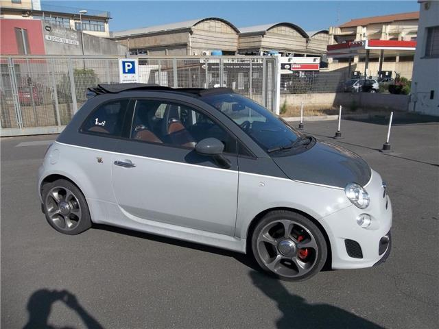 sold fiat 500 abarth cabrio automa used cars for sale. Black Bedroom Furniture Sets. Home Design Ideas