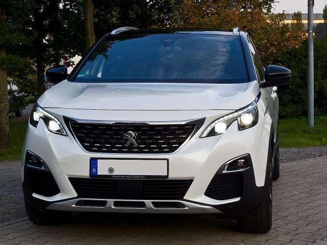 sold peugeot 3008 blue hdi 120 s s used cars for sale. Black Bedroom Furniture Sets. Home Design Ideas