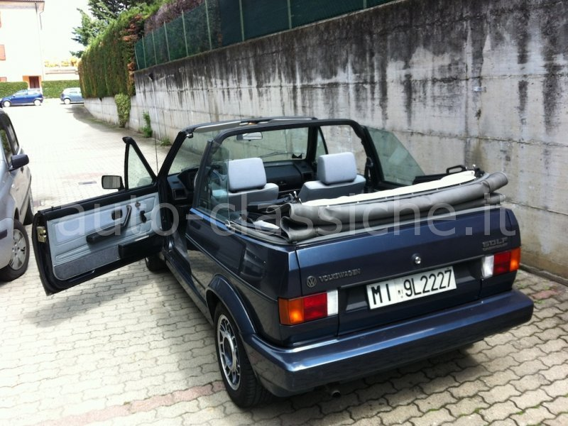 sold vw golf cabriolet serie 1 used cars for sale autouncle. Black Bedroom Furniture Sets. Home Design Ideas