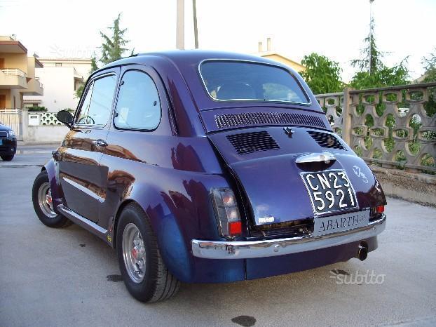 Venduto Fiat 500 Abarth Modificata Auto Usate In Vendita