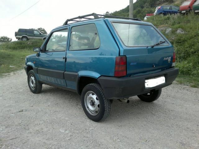Sold fiat panda 4x4 4x4 sisley epo used cars for sale for Panda 4x4 sisley off road