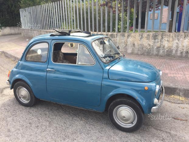 Venduto Fiat 500 Epoca Auto Usate In Vendita