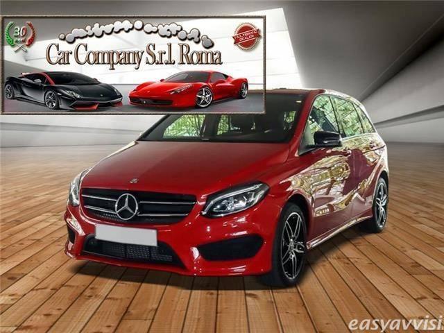 usata Mercedes B200 200d 4M AMG-LINE LEDER NAVI NIGHT