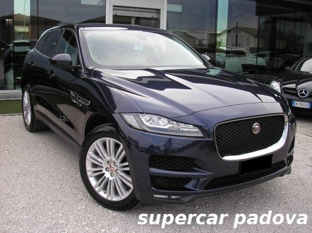 jaguar f pace usata 616 jaguar f pace in vendita autouncle. Black Bedroom Furniture Sets. Home Design Ideas