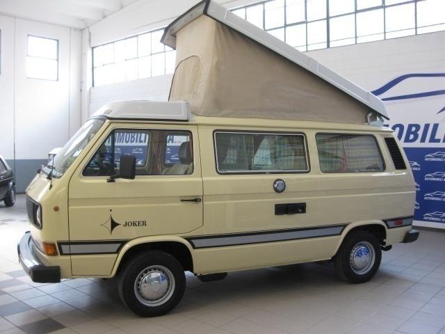 usato westfalia joker camper vanagon l vw t3 1982 km. Black Bedroom Furniture Sets. Home Design Ideas