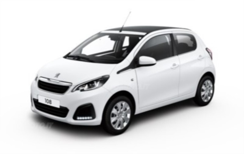 usato top 1 2 puretech 82cv 5 porte allure peugeot 108 2016 km in torino. Black Bedroom Furniture Sets. Home Design Ideas