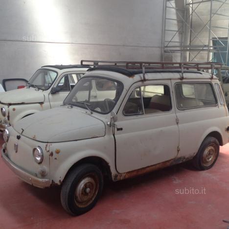 Venduto Fiat 500 Giardiniera Del 1965 Auto Usate In Vendita