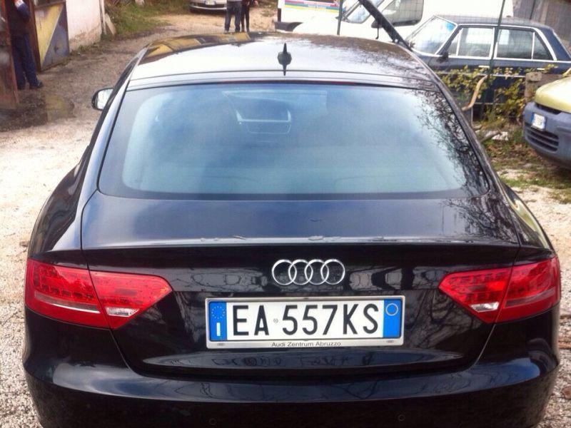Audi a5 sportback manuale duso