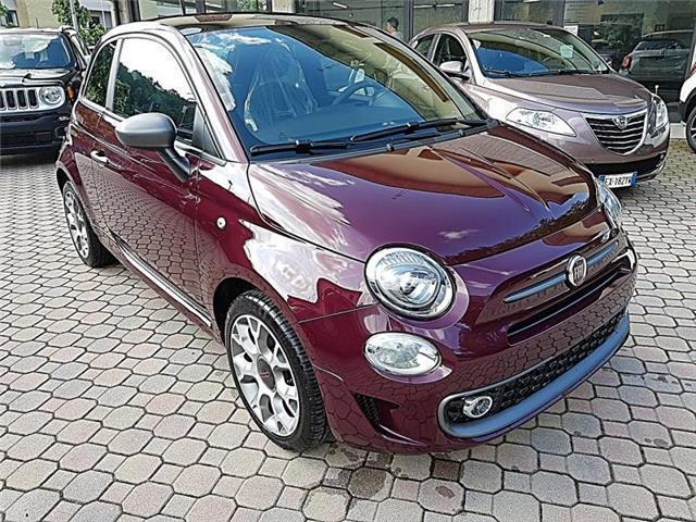 sold fiat 500 1 2 s bordeaux opera used cars for sale autouncle. Black Bedroom Furniture Sets. Home Design Ideas