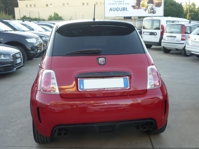 Sold Fiat 500 Abarth 1 4t Ss Essee Used Cars For Sale