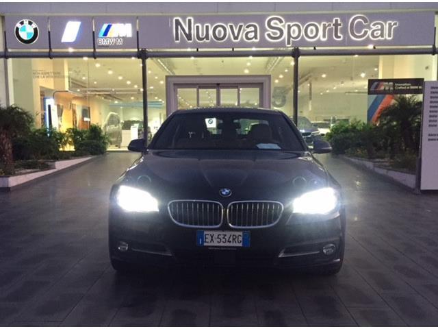 ... Usata BMW 520 Serie 5 D Business Aut. Del 2015 Usata A Catania ...