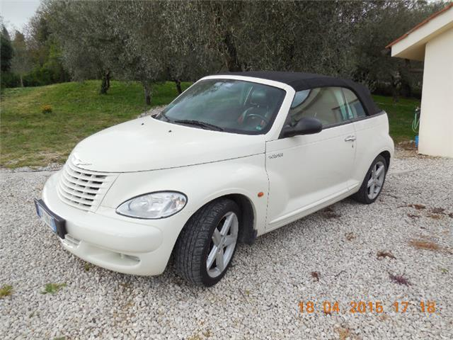 sold chrysler pt cruiser cabrio gpl used cars for sale. Black Bedroom Furniture Sets. Home Design Ideas