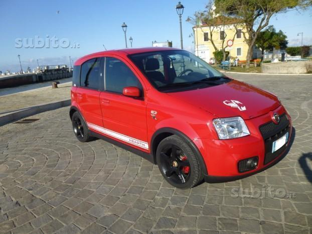 sold fiat panda 100 hp used cars for sale. Black Bedroom Furniture Sets. Home Design Ideas