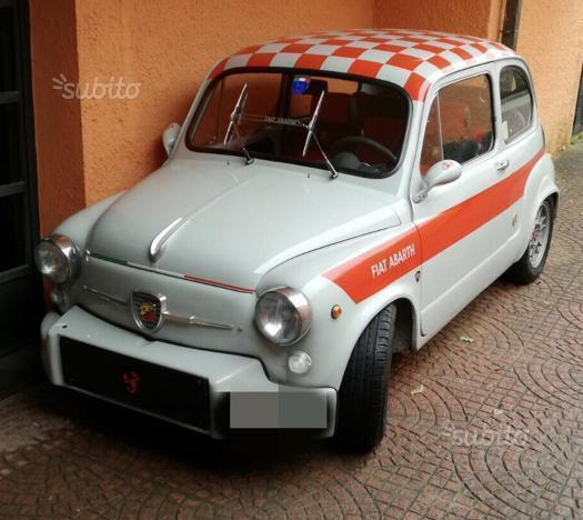 Sold Fiat 600 Abarth(replica)