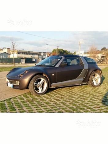 venduto smart roadster cabrio 700cc t auto usate in vendita. Black Bedroom Furniture Sets. Home Design Ideas