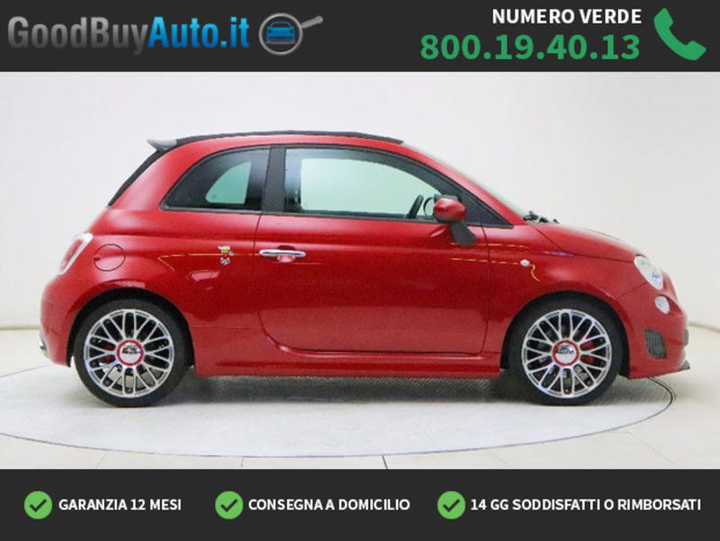 Sold Abarth 595c 1 4 T Jet Turismo Used Cars For Sale