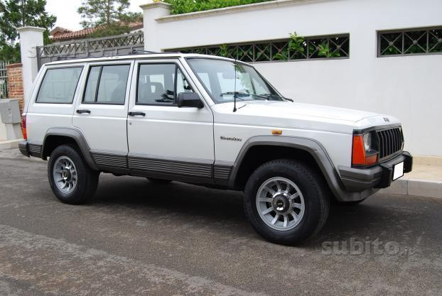 sold jeep cherokee 2 1 td iscritta used cars for sale. Black Bedroom Furniture Sets. Home Design Ideas