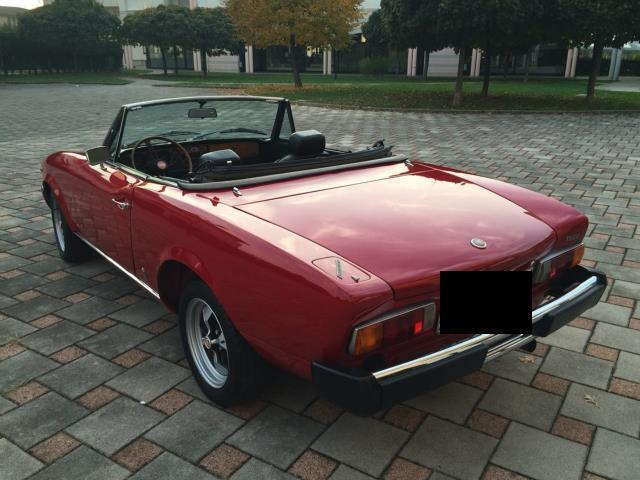 sold fiat 124 spider spider 1800 a used cars for sale autouncle. Black Bedroom Furniture Sets. Home Design Ideas