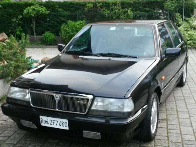 sold lancia thema 2 0 i e turbo 1 used cars for sale. Black Bedroom Furniture Sets. Home Design Ideas