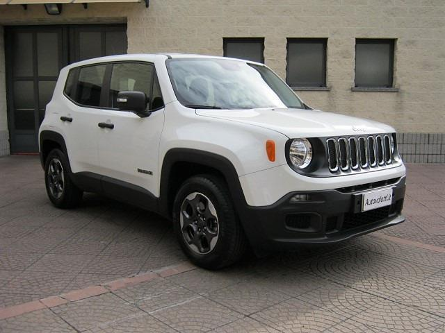 sold jeep renegade sport 1 6 110cv used cars for sale. Black Bedroom Furniture Sets. Home Design Ideas