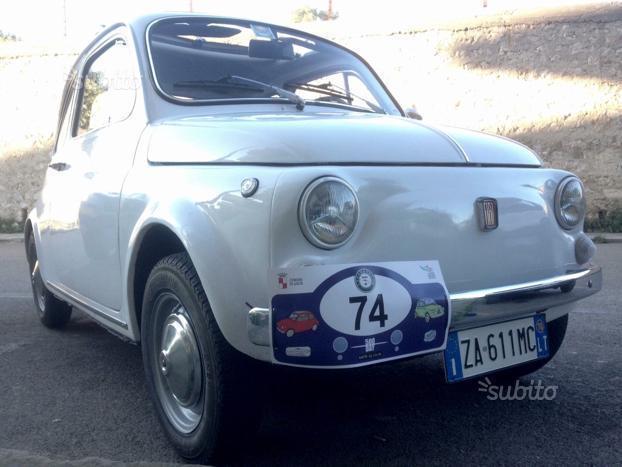 09587fc944827 Venduto Fiat 500L epoca 1970 bianca r. - auto usate in vendita