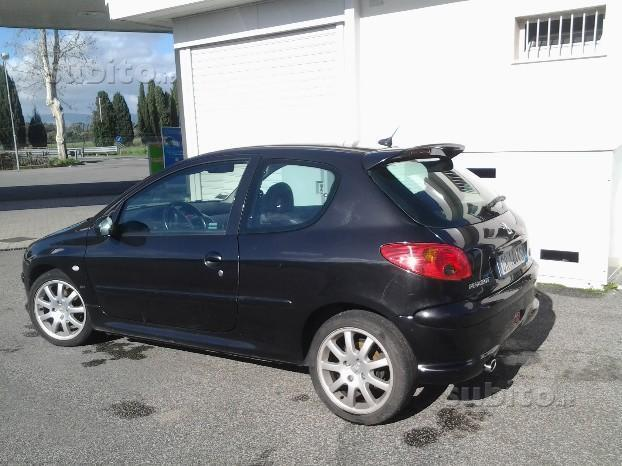 sold peugeot 206 gti 1 6 hdi used cars for sale autouncle. Black Bedroom Furniture Sets. Home Design Ideas