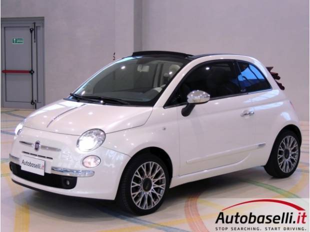 sold fiat 500c cabrio 1 4 16v 100c used cars for sale autouncle. Black Bedroom Furniture Sets. Home Design Ideas