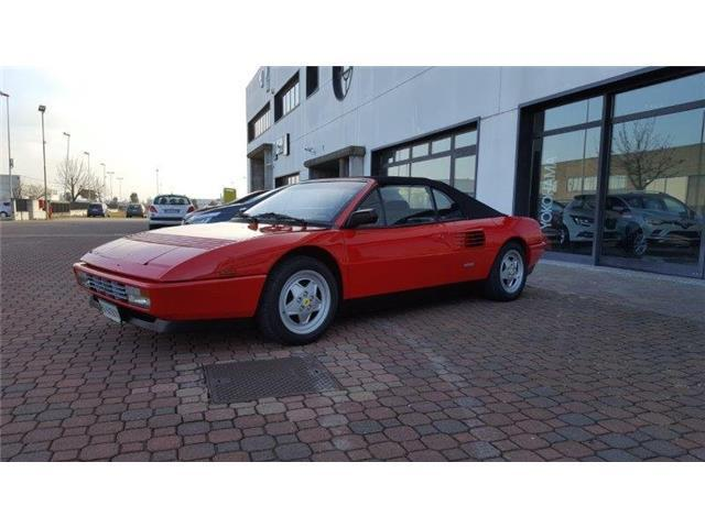 usato 3 4 t cat cabriolet ferrari mondial 1993 km in conselve padova. Black Bedroom Furniture Sets. Home Design Ideas