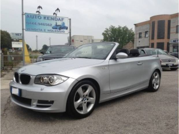 usato d attiva dpf pelle navi impeccabile bmw 120 cabriolet 2008 km in dueville vi. Black Bedroom Furniture Sets. Home Design Ideas