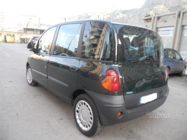 sold fiat multipla 1 9 jtd elx used cars for sale autouncle. Black Bedroom Furniture Sets. Home Design Ideas