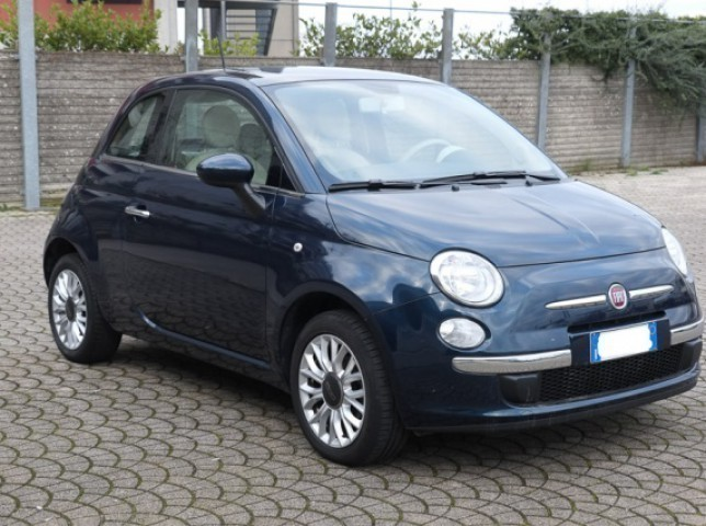 sold fiat 500 1 2 lounge used cars for sale. Black Bedroom Furniture Sets. Home Design Ideas