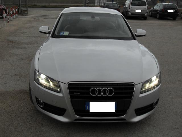 Audi a5 tdi usato bianco 3