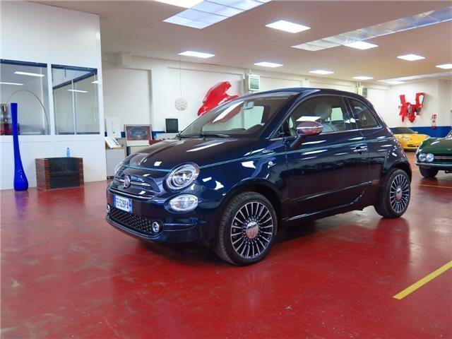sold fiat 500 cabrio c 1 2 riva used cars for sale. Black Bedroom Furniture Sets. Home Design Ideas