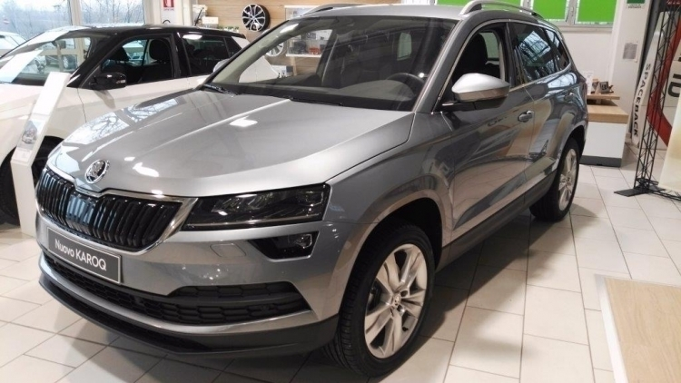 skoda karoq usata 197 skoda karoq in vendita autouncle. Black Bedroom Furniture Sets. Home Design Ideas