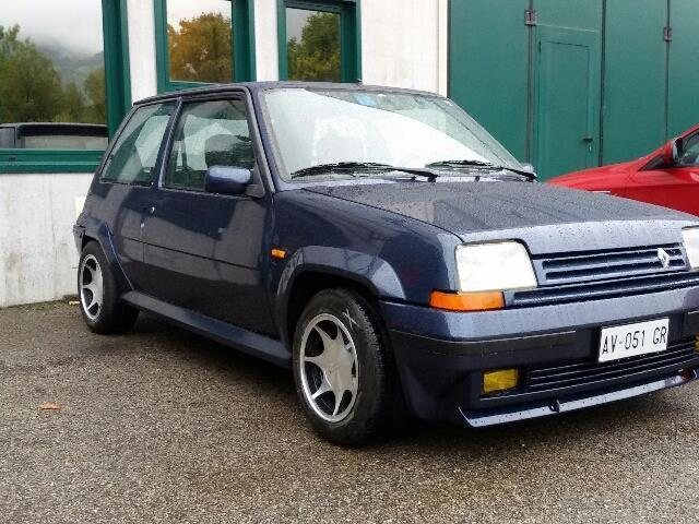 sold renault r5 gt turbo blu sport used cars for sale autouncle. Black Bedroom Furniture Sets. Home Design Ideas