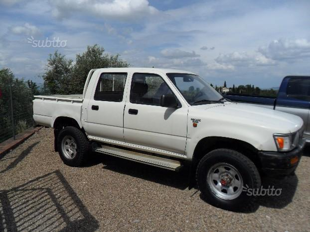 sold toyota hilux pick up 4x4 doub used cars for sale autouncle. Black Bedroom Furniture Sets. Home Design Ideas