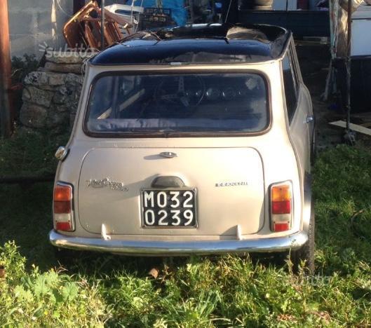 Sold Mini Cooper Leyland- Anni 70