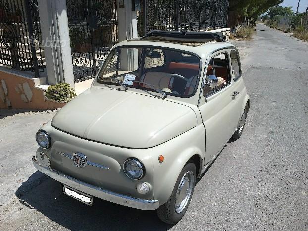 sold fiat 500 f anni 60 epoca used cars for sale autouncle. Black Bedroom Furniture Sets. Home Design Ideas