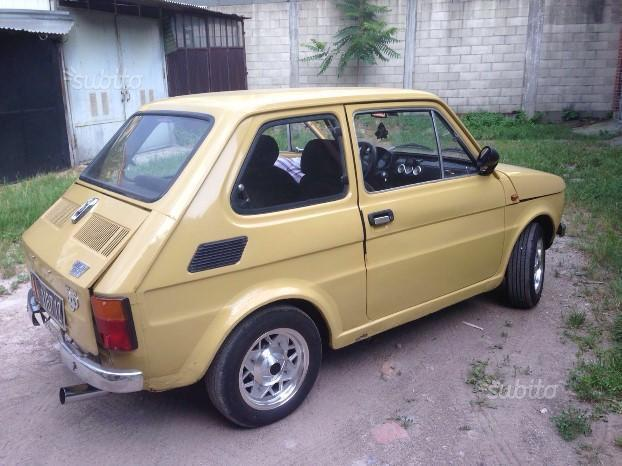 Sold Fiat 126 595 Giannini Abar Used Cars For Sale