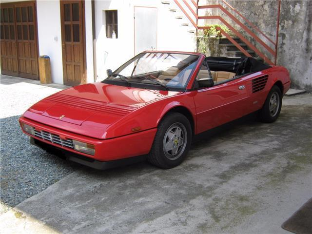 usato cabrio ferrari mondial 1991 km in camaiore. Black Bedroom Furniture Sets. Home Design Ideas