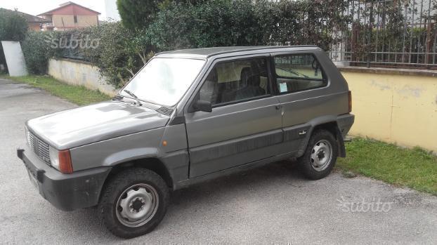 Usato sisley fiat panda 1987 km in brescia for Fiat panda 4x4 sisley usata