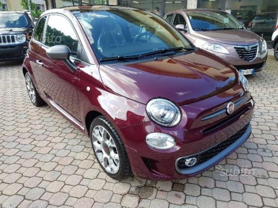 Venduto Fiat 500 1 2 S Bordeaux Opera Auto Usate In Vendita