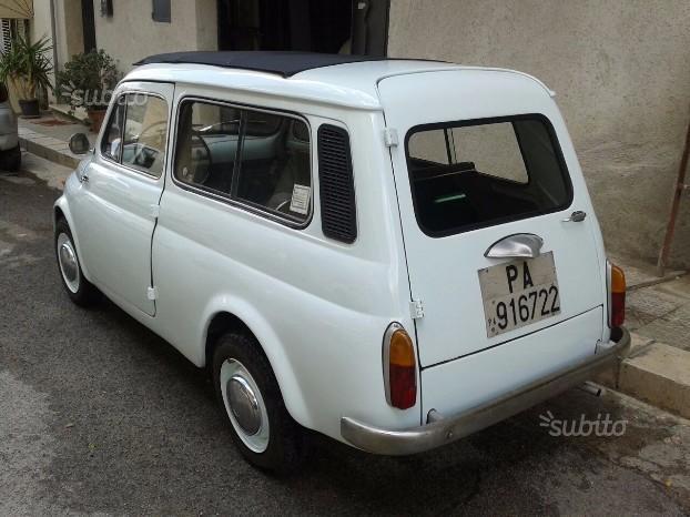 Venduto Fiat 500 Giardiniera Anni 70 Auto Usate In Vendita