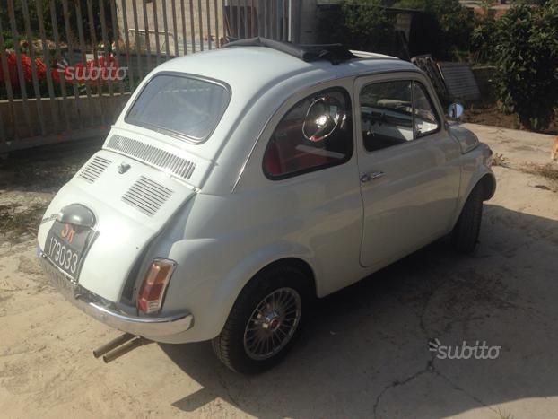 Sold fiat 500 f d 39 epoca used cars for sale autouncle for Moquette fiat 500 epoca