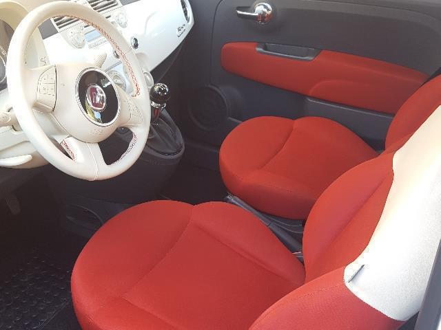 Venduto Fiat 500 Bianca Interni Rossi Auto Usate In Vendita