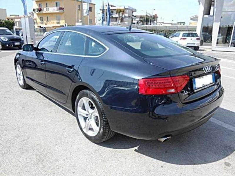 Audi a5 sportback 30 tdi v6 quattro s tronic usata