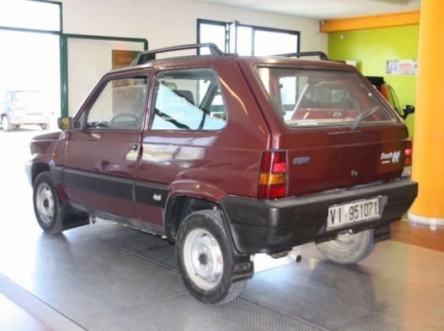 Usato 1000 sisley ottimo stato fiat panda 4x4 1988 km for Fiat panda 4x4 sisley usata