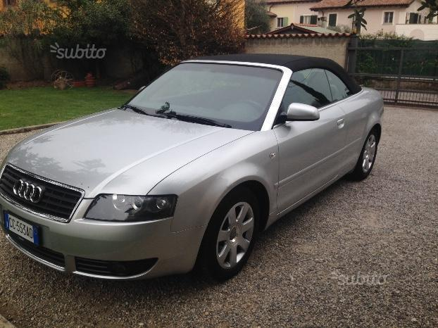 Usato a4 cabriolet 2 4 v6 30v cat audi a4 cabriolet 2002 for Subito auto brescia
