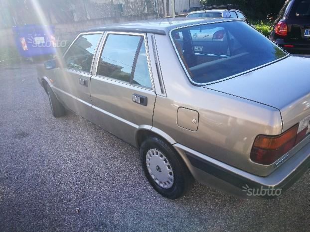Sold Lancia Prisma 1986 Used Cars For Sale Autouncle